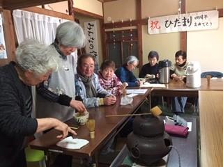 宇都宮東支部:お抹茶班